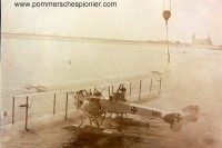 Torpedo bomber seaplane Gotha WD.11