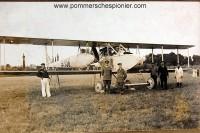 German reconnaissance airplane AGO C.II