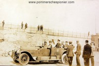 Paul von Hindenburg visiting the the Seaplane station at Zeebrugge